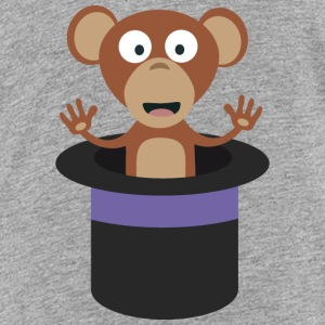 sweet monkey in hat Kids' Shirts - Kids' Premium T-Shirt