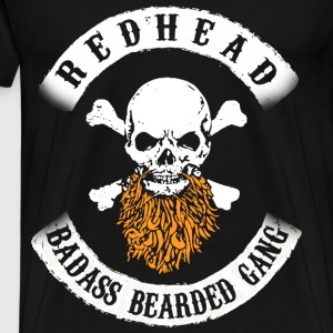 rehead badass bearded gang - Men's Premium T-Shirt