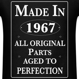 made in 1967 birthday T-Shirts - Men's T-Shirt