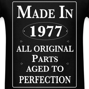 made in 1977 birthday T-Shirts - Men's T-Shirt