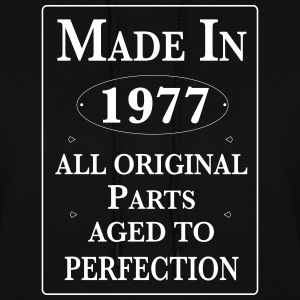made in 1977 birthday Hoodies - Women's Hoodie
