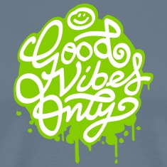 Good vibes paint T-Shirts