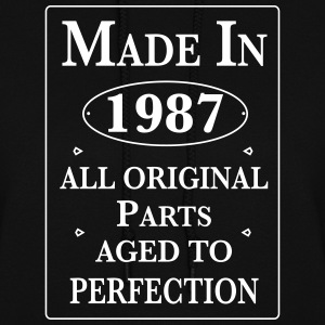 made in 1987 birthday Hoodies - Women's Hoodie