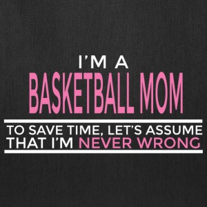 basketball mom Bags & backpacks - Tote Bag