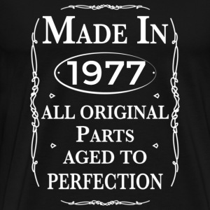 made in 1977 birthday T-Shirts - Men's Premium T-Shirt
