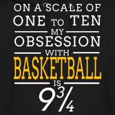 basketball obsession Hoodies
