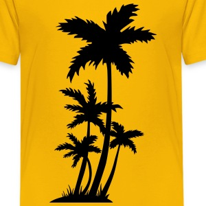 Palm trees Kids' Shirts - Kids' Premium T-Shirt