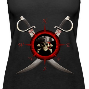 Pirate Compass - Women's Premium Tank Top