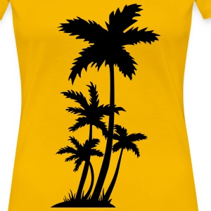 Palm trees Women's T-Shirts - Women's Premium T-Shirt