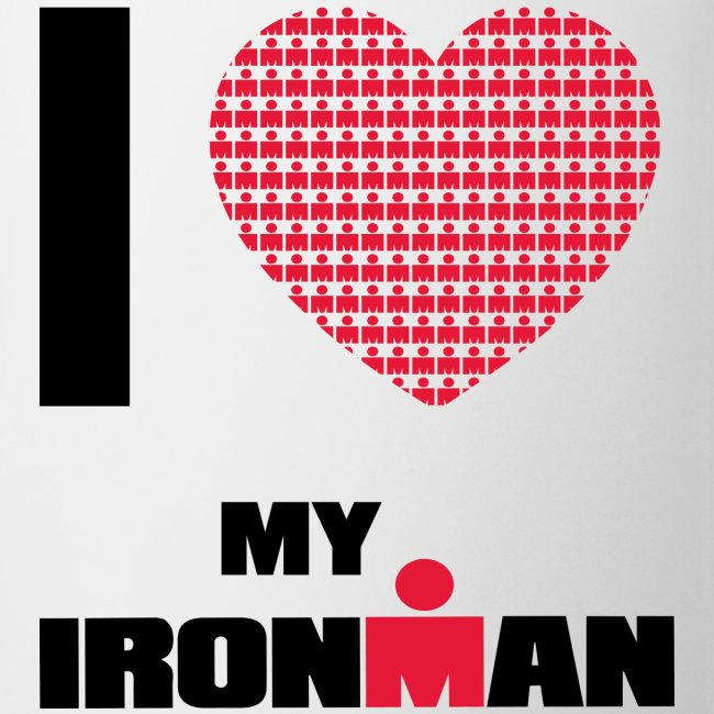 I Heart My Ironman Coffee/Tea Mug