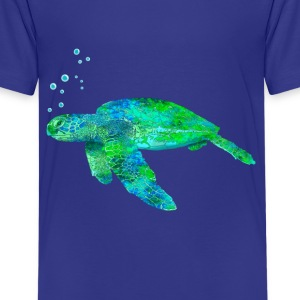Green Sea Turtle - Kids' Premium T-Shirt