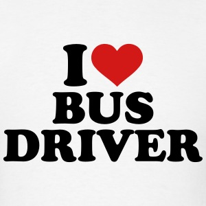 I love bus driver T-Shirts - Men's T-Shirt