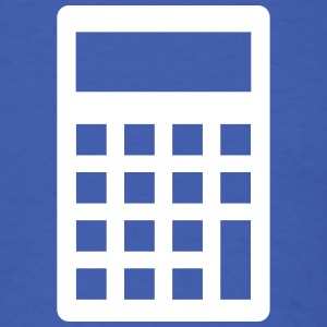 Calculator T-Shirts - Men's T-Shirt
