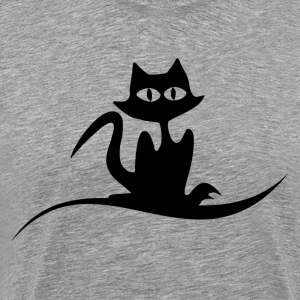 Halloween cat T-Shirts - Men's Premium T-Shirt