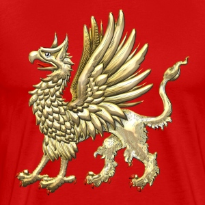Sacred Golden Griffin  - Men's Premium T-Shirt
