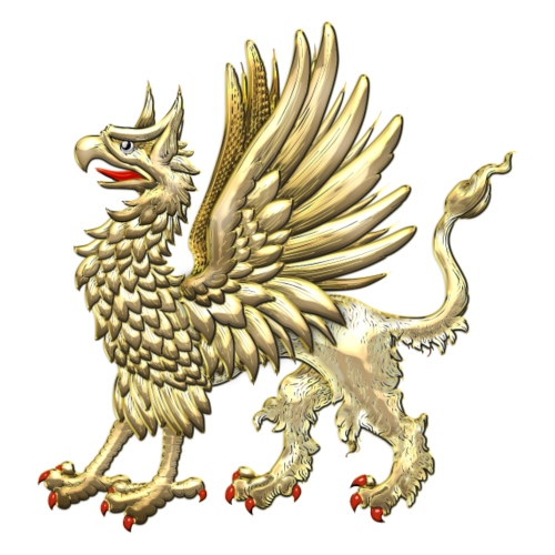Sacred Golden Griffin