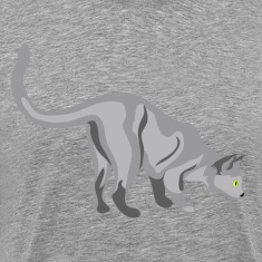 Gatto cat clip art T-Shirts