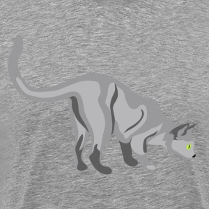 Gatto cat clip art T-Shirts - Men's Premium T-Shirt