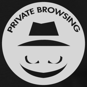 Private Browsing - Men's Premium T-Shirt