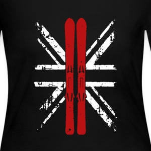 Skiing UK shirt - Women's Long Sleeve Jersey T-Shirt
