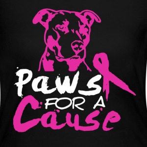 PAWS FOR A CAUSE shirt - Women's Long Sleeve Jersey T-Shirt