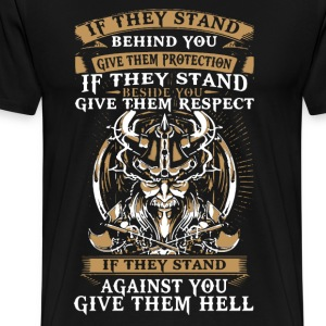Viking's Stand shirt - Men's Premium T-Shirt