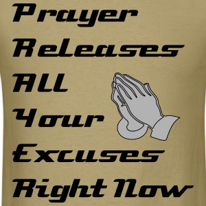 Prayer Releases - Men's T-Shirt