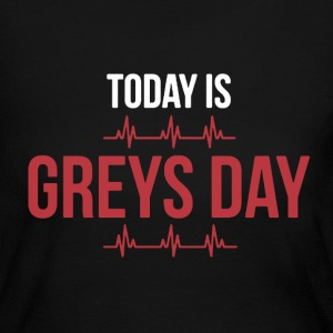 Greys day - Women's Long Sleeve Jersey T-Shirt