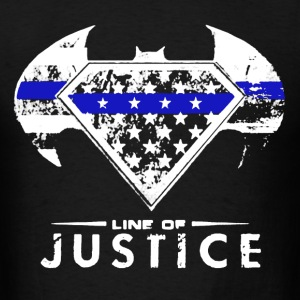 Line of Justice shirt - Men's T-Shirt