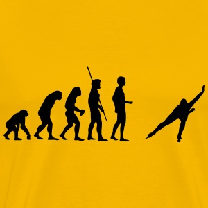 evolution Skating Shirt - Men's Premium T-Shirt