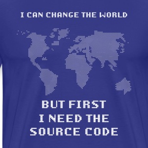 Source code - Men's Premium T-Shirt