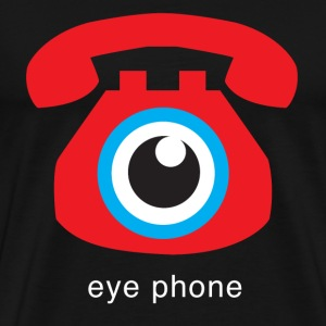 eye phone - Men's Premium T-Shirt