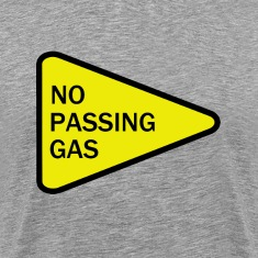 No Passing Gas