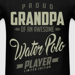Proud Grandpa Water Polo Player. - Men's T-Shirt