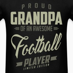 Proud Grandpa Football Player.
