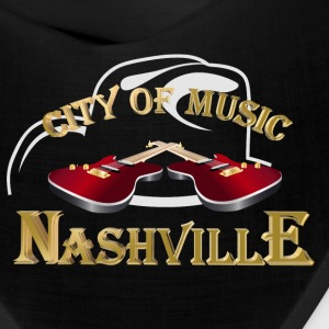 Nashville. City of music Caps - Bandana