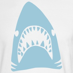 Blue Shark Long Sleeve Shirts