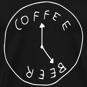 Coffee & Beer T-Shirts - Men's Premium T-Shirt