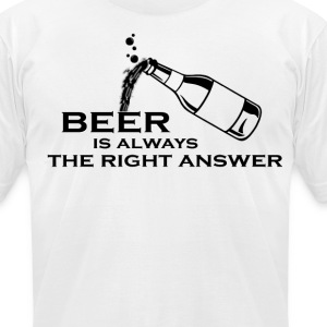 Beer T-Shirts - Men's T-Shirt by American Apparel