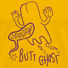 Butt Ghost (Purple)