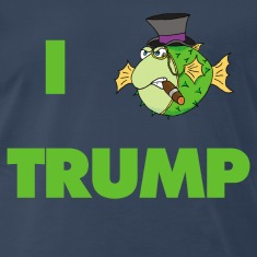 "The Fugu Network ""I Fish Trump"" Premium T-Shirt"