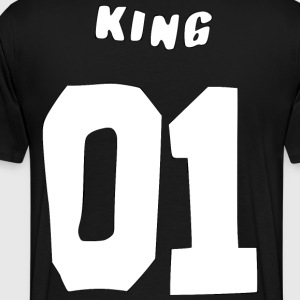 King 01 T-Shirts - Men's Premium T-Shirt