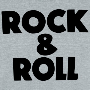 Rock & Roll T-Shirts - Unisex Tri-Blend T-Shirt by American Apparel