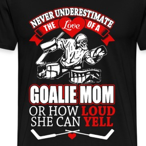GOALIE MOM shirt - Men's Premium T-Shirt
