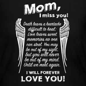 Mom I Miss You - Women's Long Sleeve Jersey T-Shirt