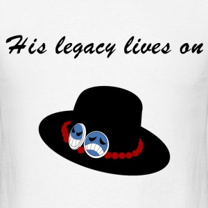 His legacy lives on T-Shirts - Men's T-Shirt