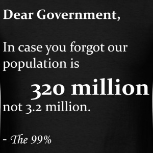 Dear Government - Men's T-Shirt