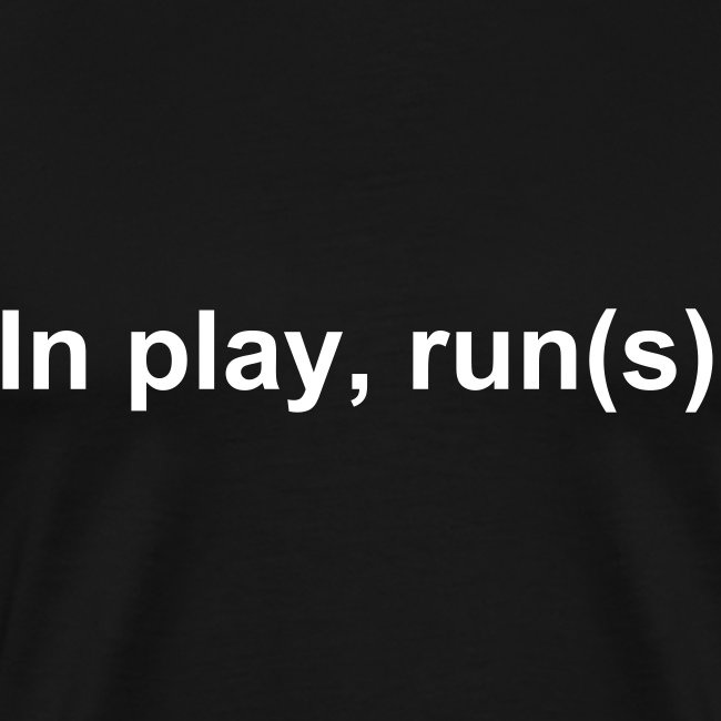 In play, run(s) - Men