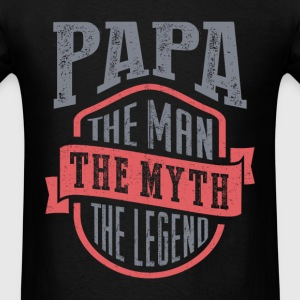 Papa. The Legend. Gift for Him!  - Men's T-Shirt
