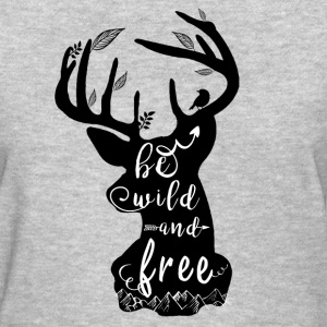 Camping Wild and Free Soul - Women's T-Shirt